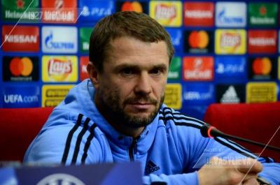 Сергей Ребров: «Все мы должны принять эту смену тренера и помочь новому наставнику тем, что в наших силах»