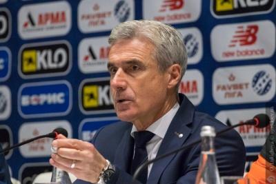 Післяматчева прес-конференція тренера «Шахтаря»