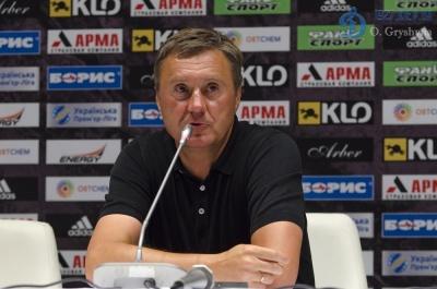 Передматчева прес-конференція Олександра Хацкевича