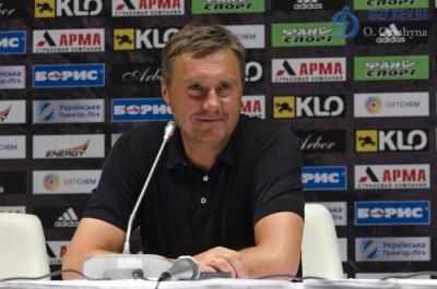 Олександр Хацкевич — про підготовку до матчу з «Ворсклою»