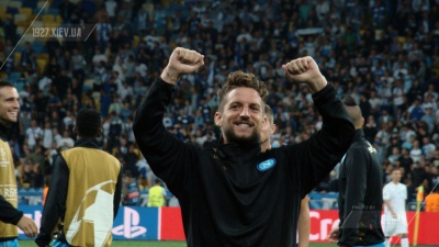Неочікуване святкування голу гравця «Наполі» у ворота «Роми»