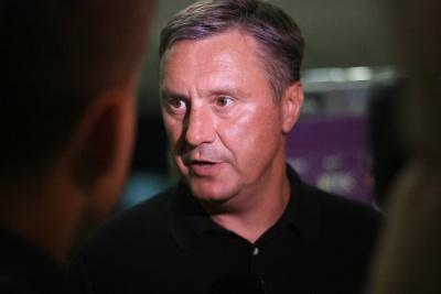 Олександр Хацкевич: «У четвер будемо дивитися матч Ліги Європи. Давно вже ведемо одного футболіста»