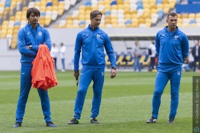 Шовковський прокоментував свій дебют у статусі помічника головного тренера національної команди