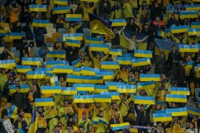 Українські фанати відповіли польським вболівальникам на матчі зі словаками
