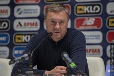 Післяматчева прес-конференція Олександра Хацкевича