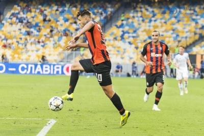 Мораєс наздогнав Брандао за забитими мячами в чемпіонатах України