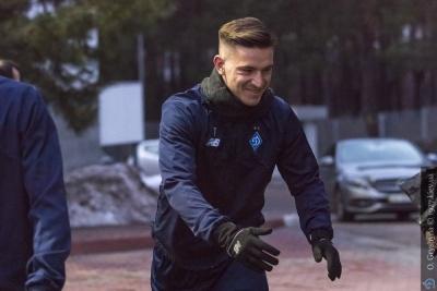 Вербич посетил матч своего бывшего клуба