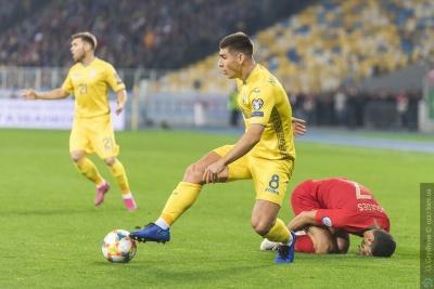 Маліновський потрапив до команди тижня відбору на Євро-2020
