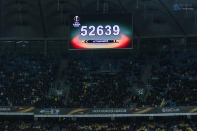 Матч «Динамо» - «Лаціо» відвідала рекордна кількість вболівальників