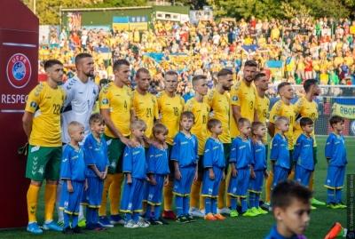 Литва оголосила склад на матчі проти України та Сербії
