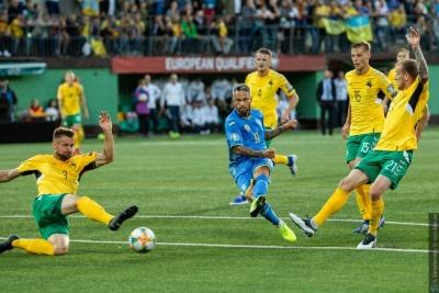 Гравці збірної Литви - про поразку від України