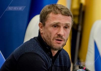 Сергій Ребров: «Побажав Віді, щоб він повернувся без травм»