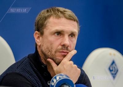Ребров відвідав матч московського «Локомотива»