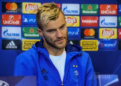Андрій Ярмоленко: «У Чернігові я думав, що найкращий, а в академії «Динамо» побачив, що таких хлопчиків дуже багато»