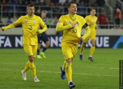 Коноплянка — пятый в истории. Лучшие бомбардиры сборной Украины в официальных турнирах