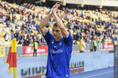 Віталій Миколенко вболівав за «Динамо» на ультрас-секторі у матчі проти «Маріуполя»