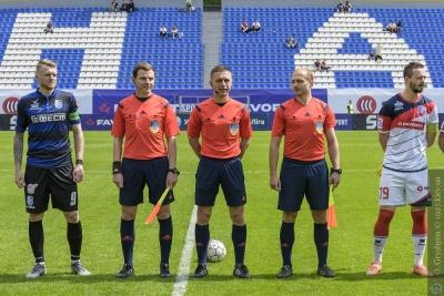 Арбитр матча «Арсенал» - «Черноморец» получил «смачного леща», в Комите арбитров ситуацию не комментируют