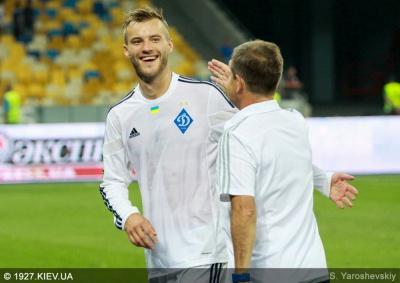 Супергол Андрія Ярмоленка став 1550-м для «Динамо» в чемпіонатах країни!