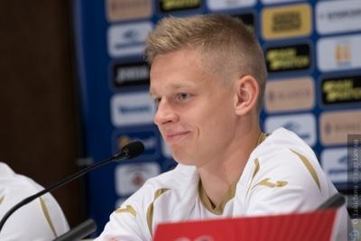 Олександр Зінченко переміг професійного кіберфутболіста в FIFA20