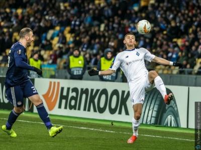 Два гравці «Динамо» потрапили до символічної збірної тижня Ліги Європи