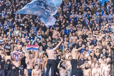Фанати «Динамо» зворушливим банером підтримали Бойка та Бурду