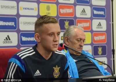 Петряк вчетверте визнаний кращим молодим гравцем України
