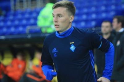 Сидорчук раніше за всіх збірників «Динамо» приступив до тренувань