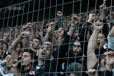 Турецький вболівальники зірвали матч «Ліон» - «Бешикташ»