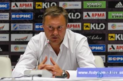 Олександр Хацкевич: «Бєсєдіну належить ще дуже багато боротися за місце в складі, навіть за те, щоб потрапити в список з 18 гравців»