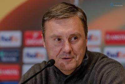 Хацкевич і Вернидуб увійшли до протилежних п'ятірок тренерів