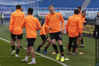 Коваленко та ще двоє гравців «Шахтаря» тренуються за індивідуальною програмою перед матчем із «Динамо»