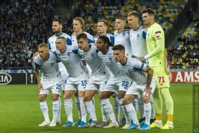 Букмекери погіршили шанси «Динамо» виграти свою групу в Лізі Європи