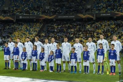 «Динамо» — в пятерке лучших команд Лиги Европы по количеству ударов по воротам