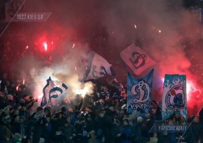 Вболівальники «Динамо» підтримали Романа Зозулю