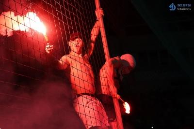 Матч «Ворскла» - «Карабах» був призупинений через безлади на трибунах