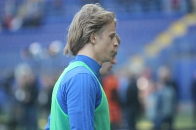 Артем Шабанов прибув у розташування збірної України, але не тренується