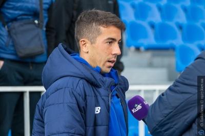 Карлос де Пена: «Надеюсь, мы добудем победу в матче с «Шахтером»
