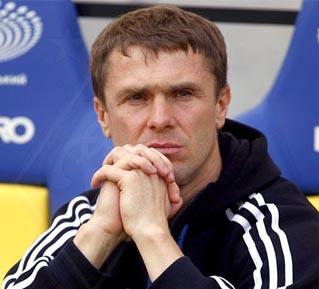 Ребров: «Сабо побажав мені стати головним тренером»