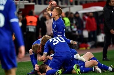 Букмекеры верят в выход «Динамо» в следующий раунд Лиги Европы
