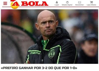«Между «Спортингом» и «Ворсклой» - целая пропасть». Португальские СМИ очень довольны