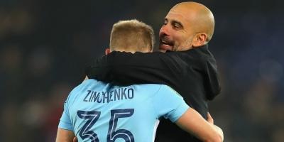 Гвардіола оцінив вклад Зінченка в чемпіонство «Манчестер Сіті»