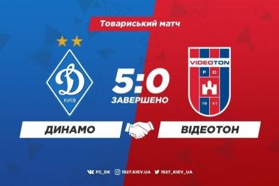 «Динамо» розгромило «Відеотон»