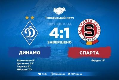 «Динамо» — «Спарта»: 4:1. Хацкевич завершив експерименти