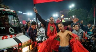 Вболівальники збірної Марокко влаштували безлади у Брюсселі – 22 поліцейських постраждали