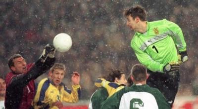 Пятов – про пропущений гол Шовковського від Словенії: «Він все правильно робив»