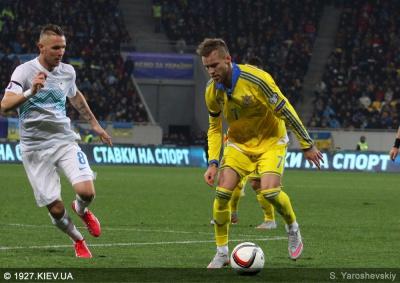 Топ-8 висновків із матчу Україна - Словенія: Коноплянка - фартовий, Ярмоленко - ефективний