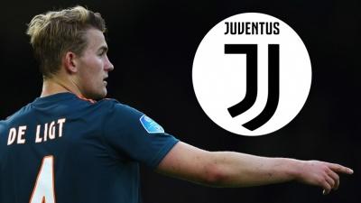 «Ювентус» оголосив про перехід де Лігта за €75 млн