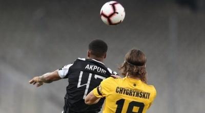 ПАОК із Шаховим у складі обіграв АЕК Чигринського і завоював Кубок Греції