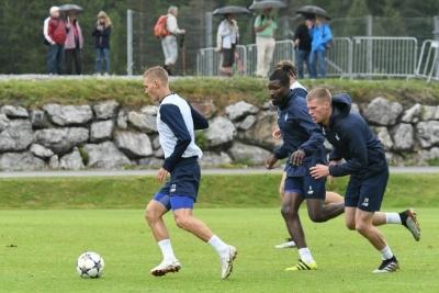 «Динамо» в Австрии: Подождем под дождем