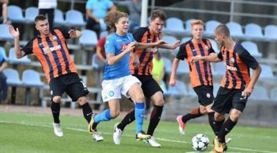 «Шахтар» програв «Наполі» в рамках Юнацької Ліги УЄФА